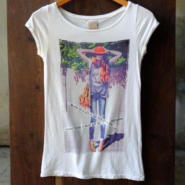 Zara Photo Print Shirt