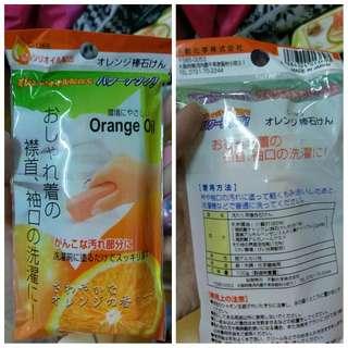 日本橘子洗衣皂