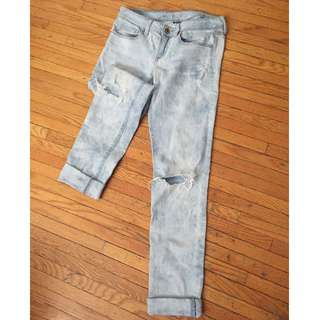 American Eagle Torn Jeans