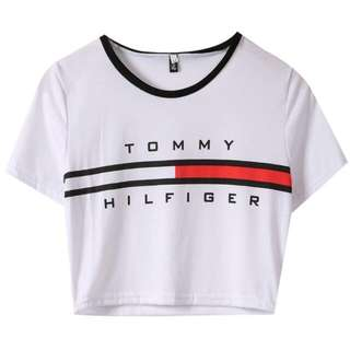 BRAND NEW** Tommy Hilfiger Crop *White