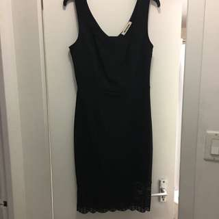 Black Lease Classic And Clubbing Dress