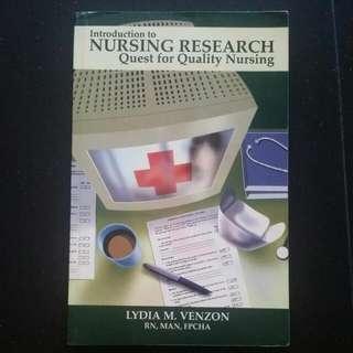 Intro Nursing Research Quest For Quality Nursing