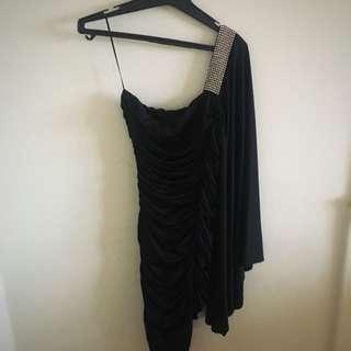 Tight Black Mini Dress