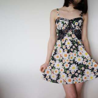 Topshop Daisy Dress
