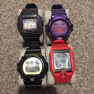 Casio G-Shock Watches 4x