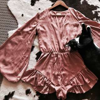 Pink Play suit