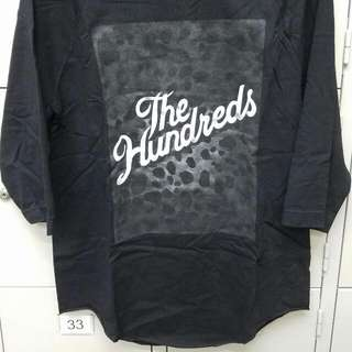 The Hunders reglan 中抽tee ,100% real & new with tag and packing,size S,原價$260,歡迎任何地鐵驗貨交收