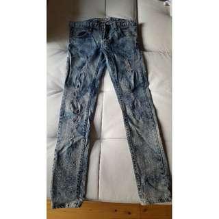 Korean Fashion Jeans (used)