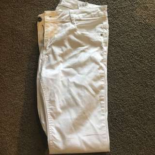 Brand New ASOS White Jeans