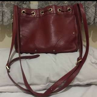 Authentic Mulberry Double Strap Body Bag