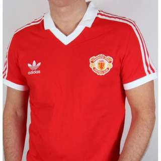 Adidas Originals Manchester United Retro Jersey