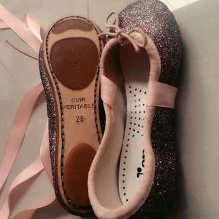 Brand New Repetto Ballerina Shoes For Girls