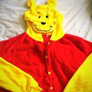 Winnie The Pooh Onesie Size Large