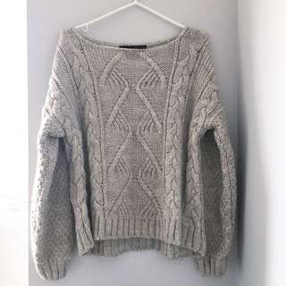 Zara Thick Knit Sweater