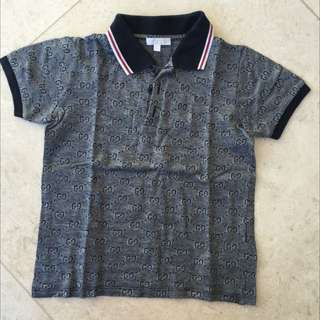 GUCCI Boys Polo Size 5