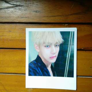 BTS WINGS POLAROID : TAEHYUNG