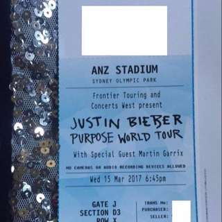 JUSTIN BIEBER A RESERVED SEAT BEST AFTER VIP