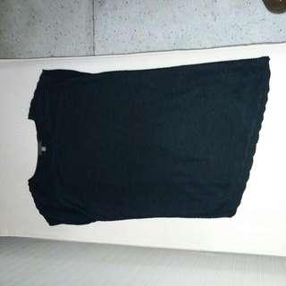 Plains & Prints Asymmetrical T-shirt Dress