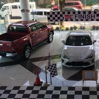 Brand New Toyota fo financing