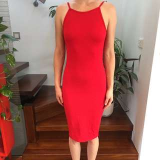 Small Ninie Red Dress
