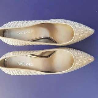 Nine West Studded Heels
