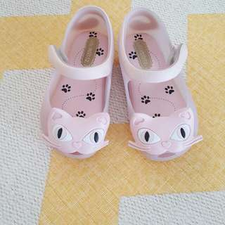 BN Mini Melissa Baby Shoes - Pink Kitty