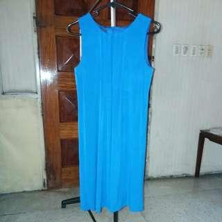 AGB Royal Blue Jersey Dress