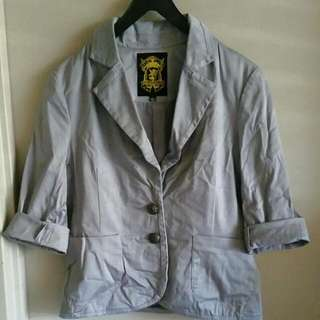 Vintage Limited Edition Grey Blazer
