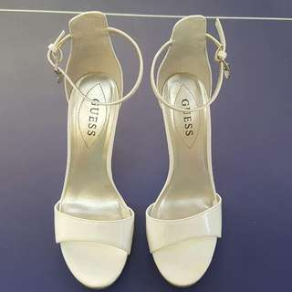Guess Stilletos With Ankle Straps