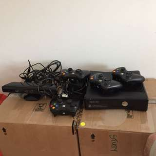 Xbox 360 250GB + Additional 320GB Internal Hard Drive