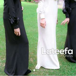 White Or Black Lateefa Dress