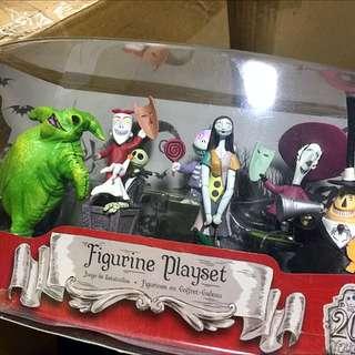 Disney's Nightmare Before Christmas Playset From Tokyo Disneyland