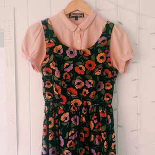 Princess Highway Floral Midi Dress