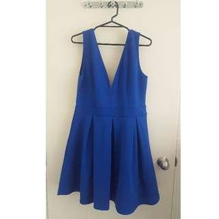 Stunning Royal Blue Dress