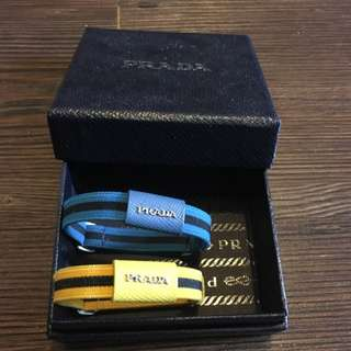 Prada 普拉達手帶 Hand Bands (Blue & yellow)