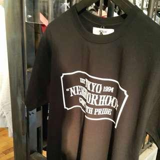 Neighborhood NBHD 17SS 目錄隱藏版 黑 Logo Tee S