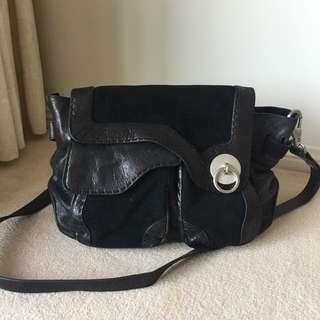 Mimco Black Handbag