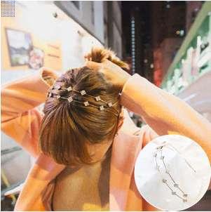 Diamond duo hairband