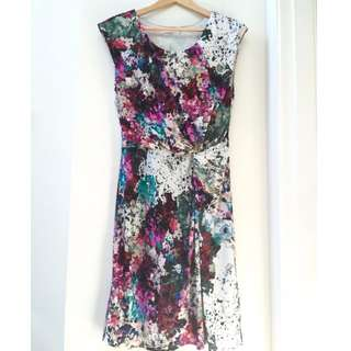 Vibrant print - Paul Dane dress - great for work or play