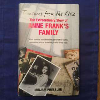 """Anne Frank's Family"" - hardcover"
