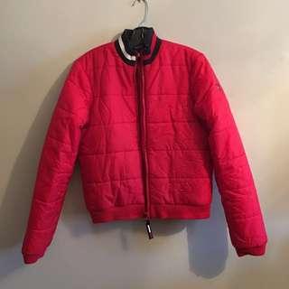 Vintage Tommy girl / Tommy Hilfiger Bomber /puffer Jacket - Large