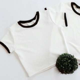 White shirt with lining