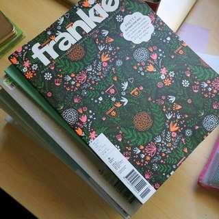 Frankie Back Issues Magazine Design Craft Art Fashion Photography Music Life