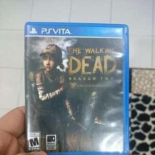 Walking Dead Season 2 Psvita