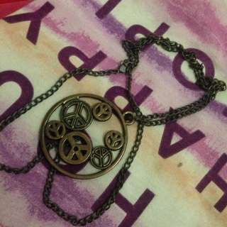 Peace Necklace Kalung
