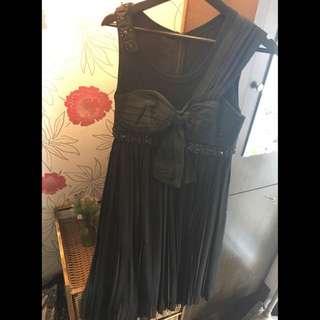 🚚 miamia剪標小禮服 假二式百褶洋裝 💥原價9980💥1.5折出清