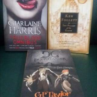 True Blood Omnibus, Pillars Of The Earth And Doppleganger Chronicles