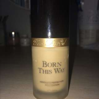 AUTH - Too faced - Born this way foundation