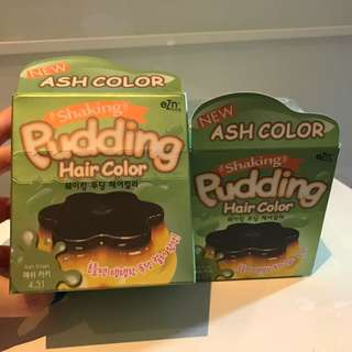 Shaking Pudding Hair Colour (Ash Khaki 4.31)
