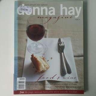Donna Hay Magazine Issue 15 - Food + Wine